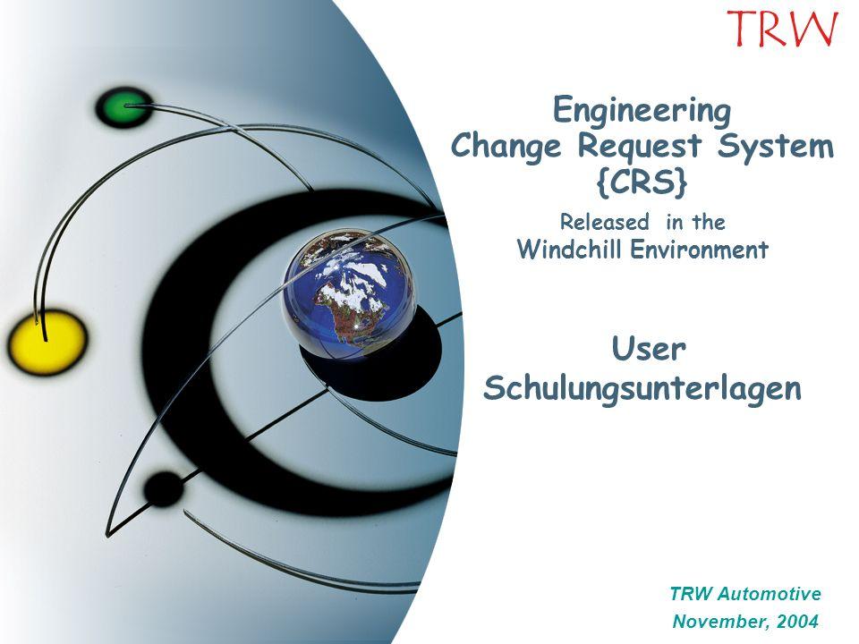 42 TRW Engineering Request Document Part Submissions Nach Vervollständigung der Request Seite wählen Sie die Part Submissions - Seite durch anklicken aus.
