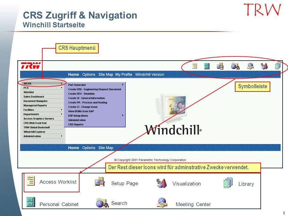 59 TRW Review und Approve Task Zugriff entweder durch die Worklist oder den Link der GroupWise Notification.