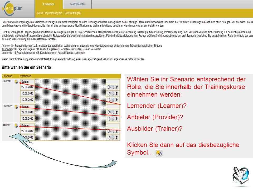 Die Diagramme, am rechten Rand der Seite, bilden anschließend beide Ergebnisse gleichzeitig ab.
