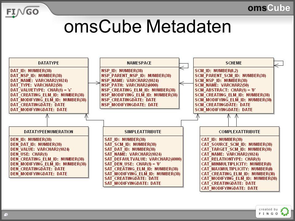 omsCube Metadaten