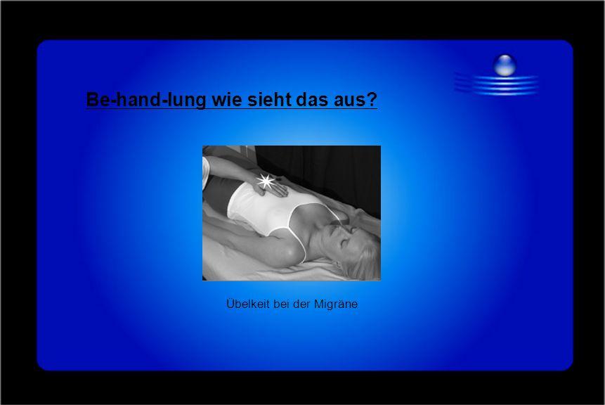 Be-hand-lung wie sieht das aus? Übelkeit bei der Migräne