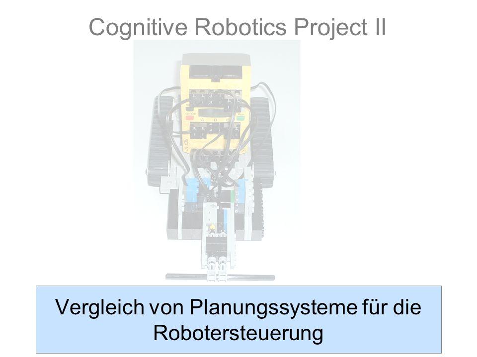 1 Vergleich von Planungssysteme für die Robotersteuerung Cognitive Robotics Project II