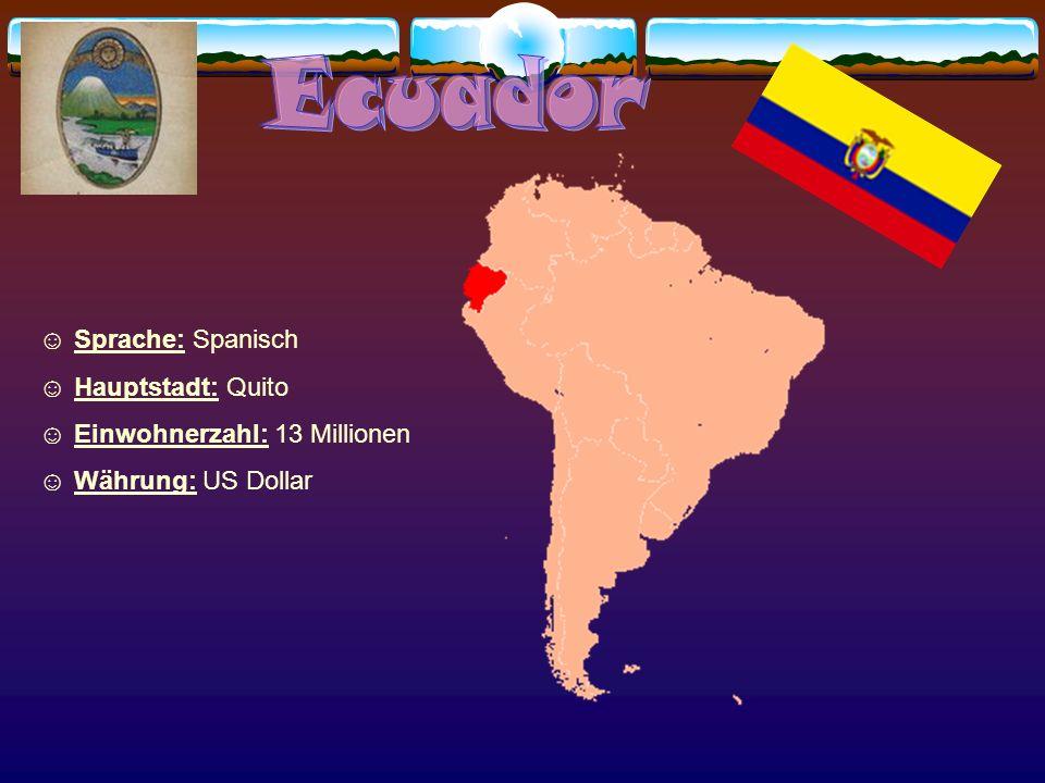 Sprache: Englisch, Spanisch Hauptstadt: Georgetown Bevölkerung: 698 000 Währung: Guyana Dollar Religion: die Mehrheit sind Christen