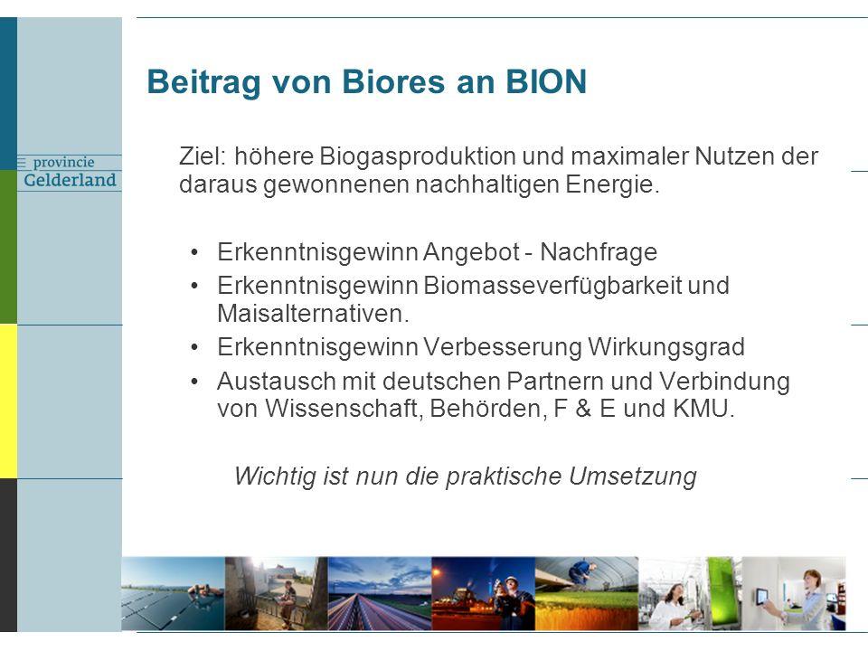 Ziel: höhere Biogasproduktion und maximaler Nutzen der daraus gewonnenen nachhaltigen Energie.