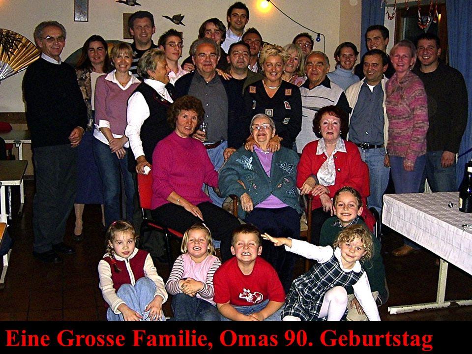 Eine Grosse Familie, Omas 90. Geburtstag