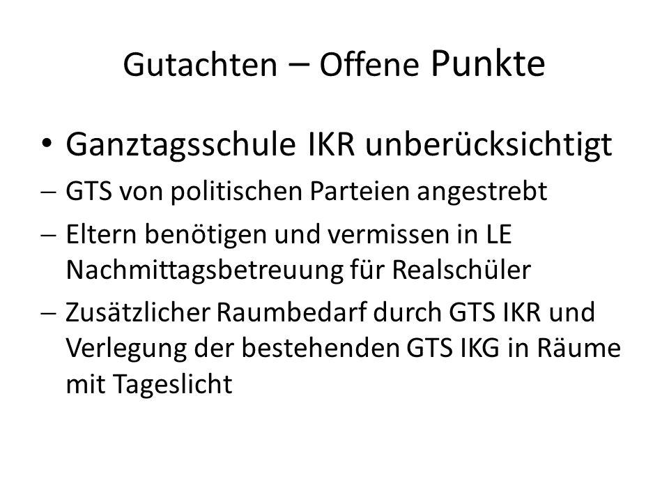 Gutachten: Grundlagen Starker Trend zum Gymnasium (S.