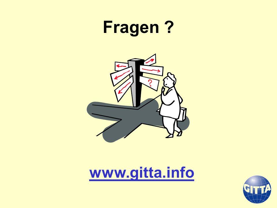 Fragen ? www.gitta.info