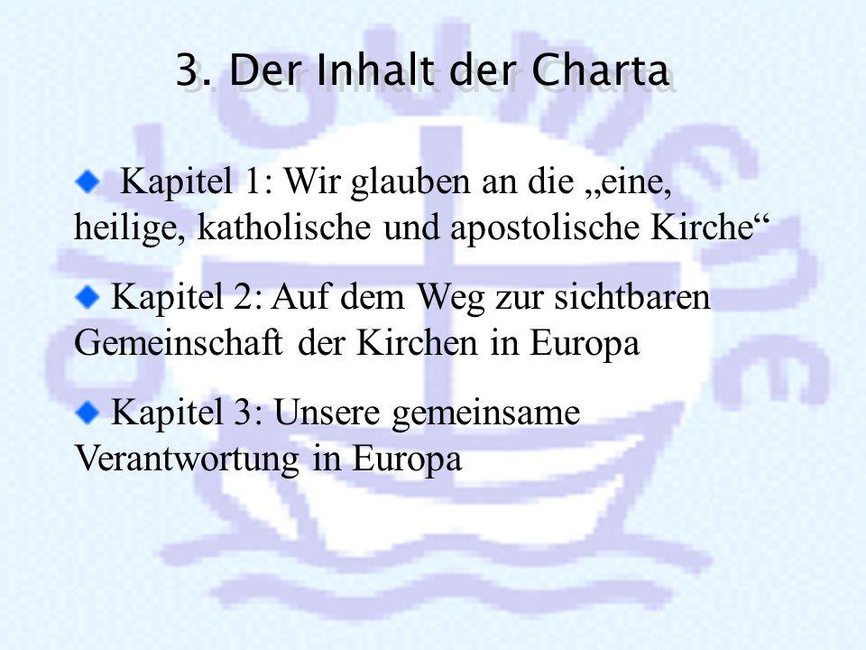 2. Die Rezeption der Charta 2. Die Rezeption der Charta Die Charta ist zum weit verbreitetsten und diskutierten Text in Europa seit vielen Jahren gewo