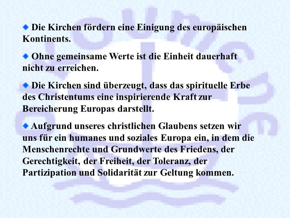 3.3. Unsere gemeinsame Verantwortung in Europa Europa mitgestalten Völker und Kulturen versöhnen Die Schöpfung bewahren Gemeinschaft mit dem Judentum