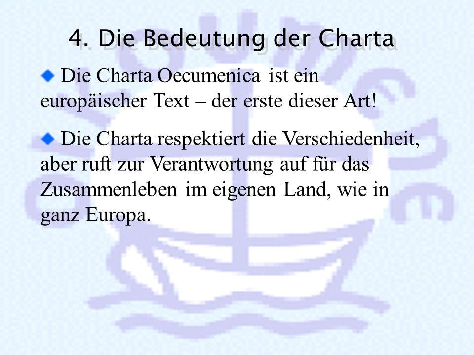 Als Kirchen und als internationale Gemeinschaften müssen wir der Gefahr entgegentreten, dass Europa sich zu einem integrierten Westen und einem desint