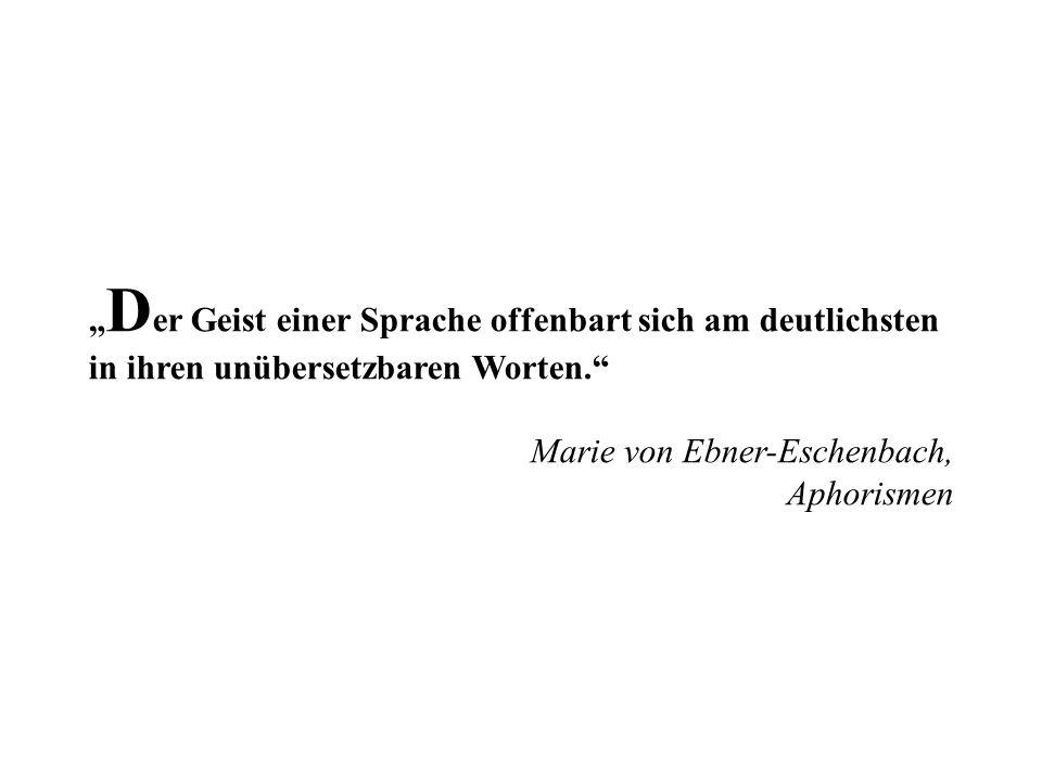 Marie von Ebner-Eschenbach (1830-1916) war eine österreichische Schriftstellerin und gilt mit ihren psychologischen Erzählungen als eine der bedeutendsten deutschsprachigen Erzählerinnen des 19.