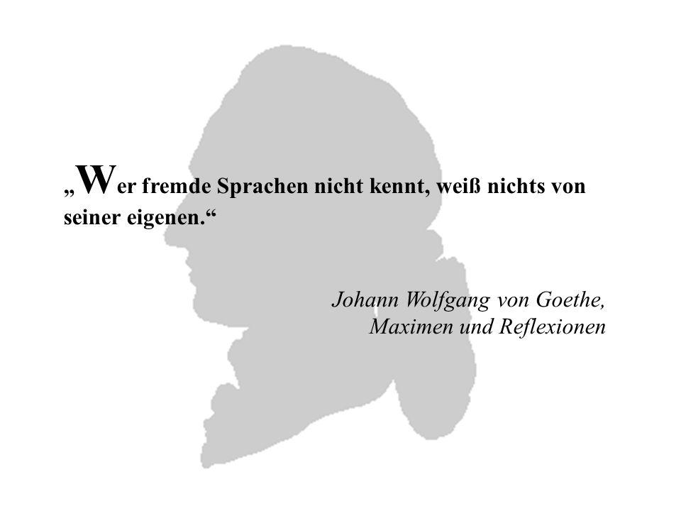 Johann Wolfgang von Goethe gehört zu den bedeutendsten und einflussreichsten deutschen Dichtern aller Zeiten.