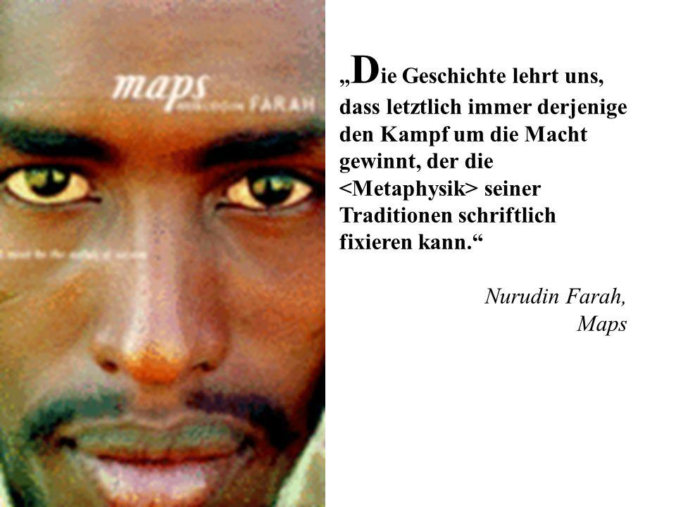 Nurudin Farah gilt als einer der bedeutendsten afrikanischen Schriftsteller der Gegenwart.