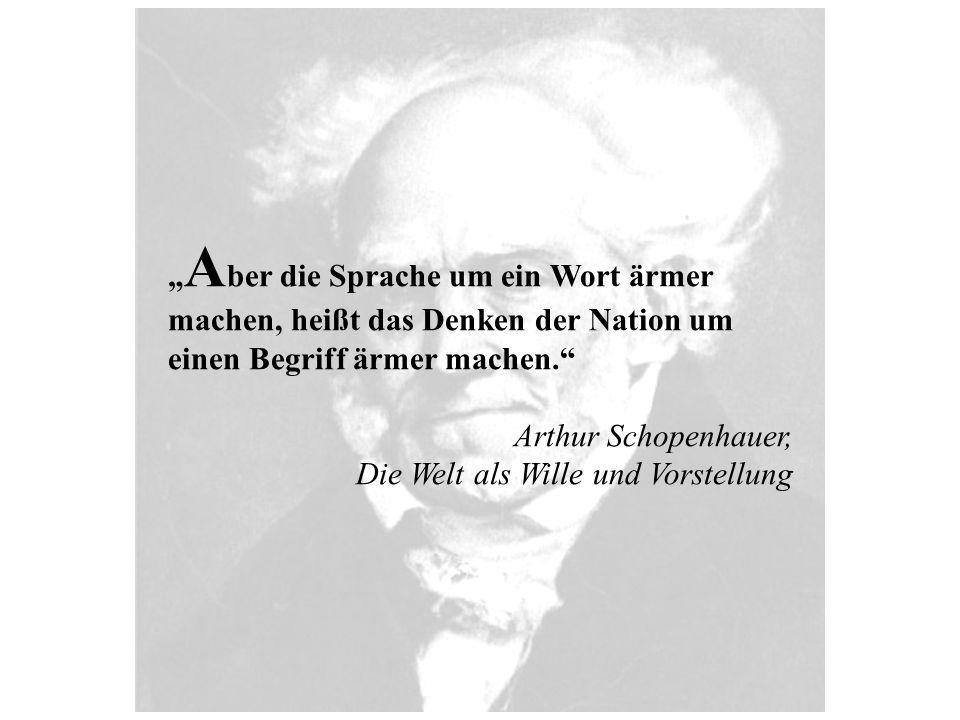 Arthur Schopenhauer wurde 1788 in Danzig geboren und zählt zu den bedeutendsten deutschen Philosophen und Autoren der Neuzeit.