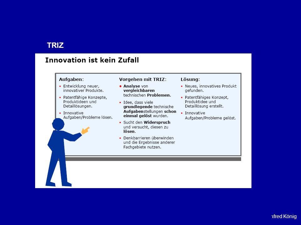 Prof. Dr. Manfred König TRIZ