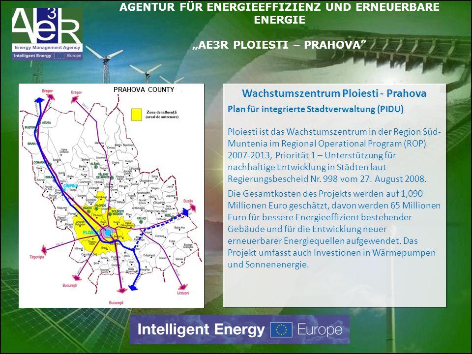 Wachstumszentrum Ploiesti - Prahova Plan für integrierte Stadtverwaltung (PIDU) Ploiesti ist das Wachstumszentrum in der Region Süd- Muntenia im Regio