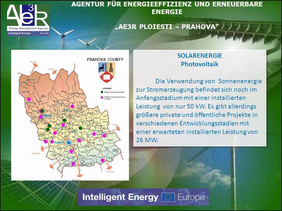 SOLAR ENERGY Thermo Im Gebiet Prahova gibt es 45 Solarkraftwerke.