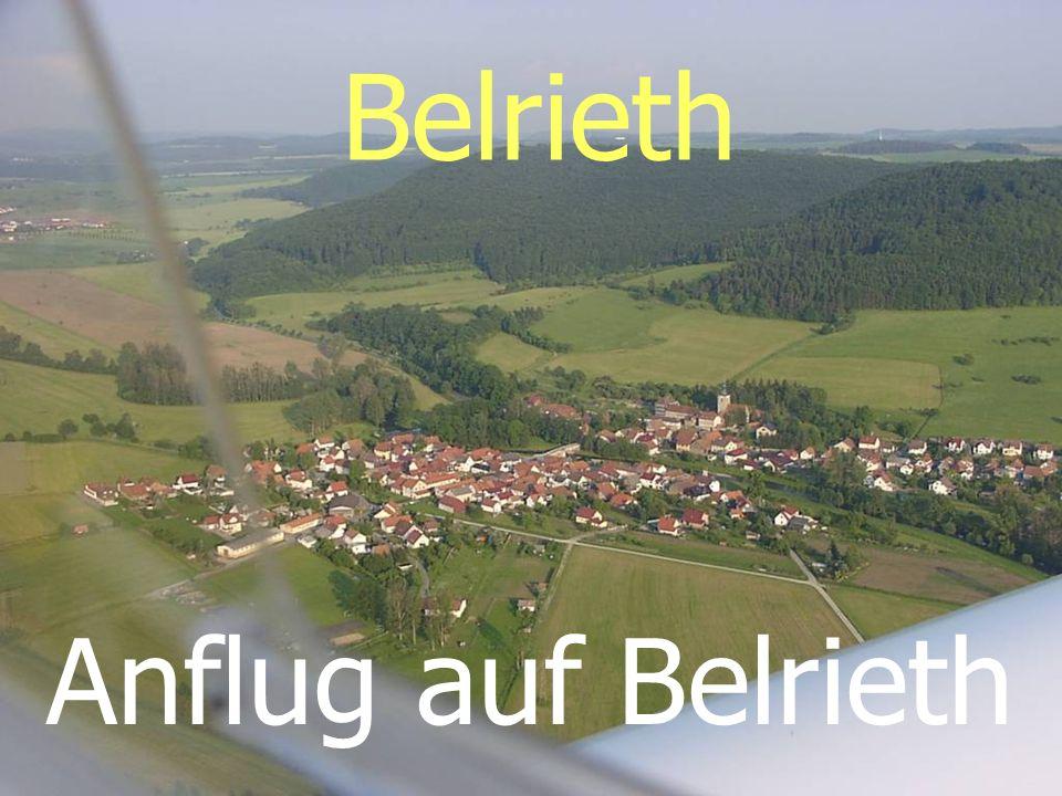 Belrieth Anflug auf Belrieth