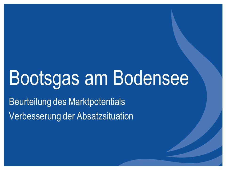 Bootsgas am Bodensee Beurteilung des Marktpotentials Verbesserung der Absatzsituation