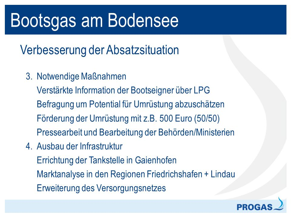 Bootsgas am Bodensee