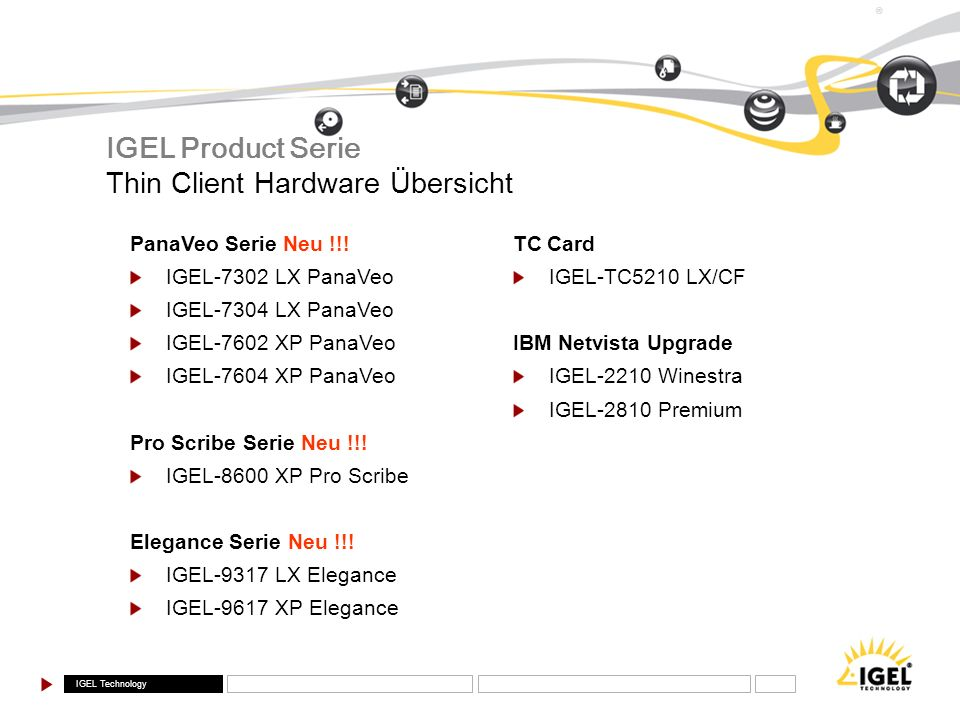 IGEL Technology ® TC Card IGEL-TC5210 LX/CF IBM Netvista Upgrade IGEL-2210 Winestra IGEL-2810 Premium PanaVeo Serie Neu !!! IGEL-7302 LX PanaVeo IGEL-