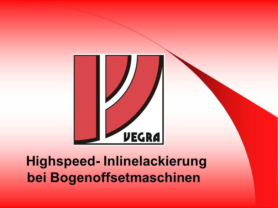 Highspeed- Inlinelackierung bei Bogenoffsetmaschinen