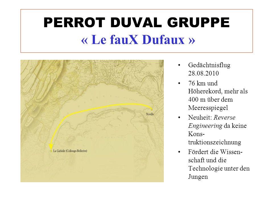 Gedächtnisflug 28.08.2010 76 km und Höherekord, mehr als 400 m über dem Meeresspiegel Neuheit: Reverse Engineering da keine Kons- truktionszeichnung F