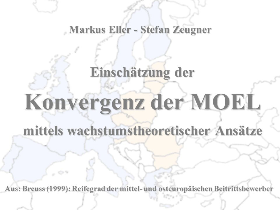 Angewandte Politik Unveränderte Politik Harmonisierung mit EU Harmonisierung mit NIC Unveränderte Politik Harmonisierung mit EU Harmonisierung mit NIC Unveränderte Politik Harmonisierung mit EU Harmonisierung mit NIC Jahre, um 70% des EU- BIP/Kopf zu erreichen Jahre, um 90% des EU- BIP/Kopf zu erreichen n.erreichbar 45 13 194 65 21 23 36 10 n.erreichbar 120 23 n.