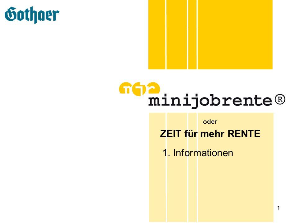 12 minijobrente - Vorteile für Arbeitgeber Jede Stunde Mehrarbeit 30% weniger Kosten Bei einer Steigerung der Produktivität um 25% sinken die Lohnkosten je Stunde um 60 Cent.