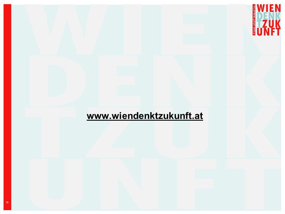 11 www.wiendenktzukunft.at