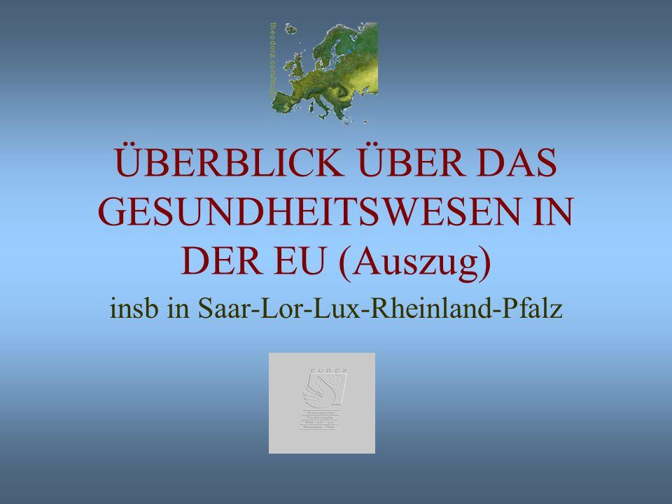Joachim Geppert Koordinator EURES-Transfrontalier Saar-Lor-Lux-Rheinland-Pfalz Grenzüberschreitende Beschäftigung im Gesundheitswesen Saar-Lor-Lux-Rhe