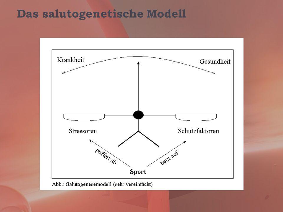 Das salutogenetische Modell