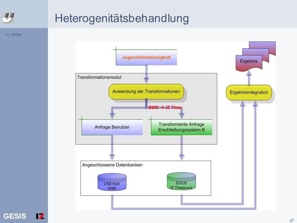 GESIS 27 m. müller Heterogenitätsbehandlung
