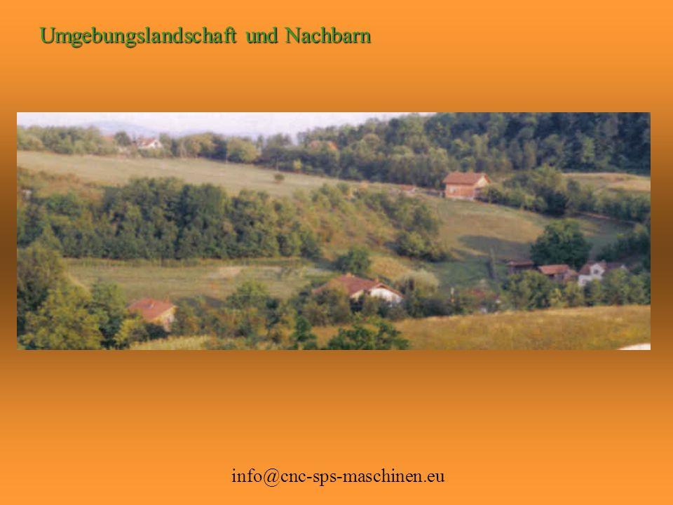 info@cnc-sps-maschinen.eu Umgebungslandschaft und Nachbarn