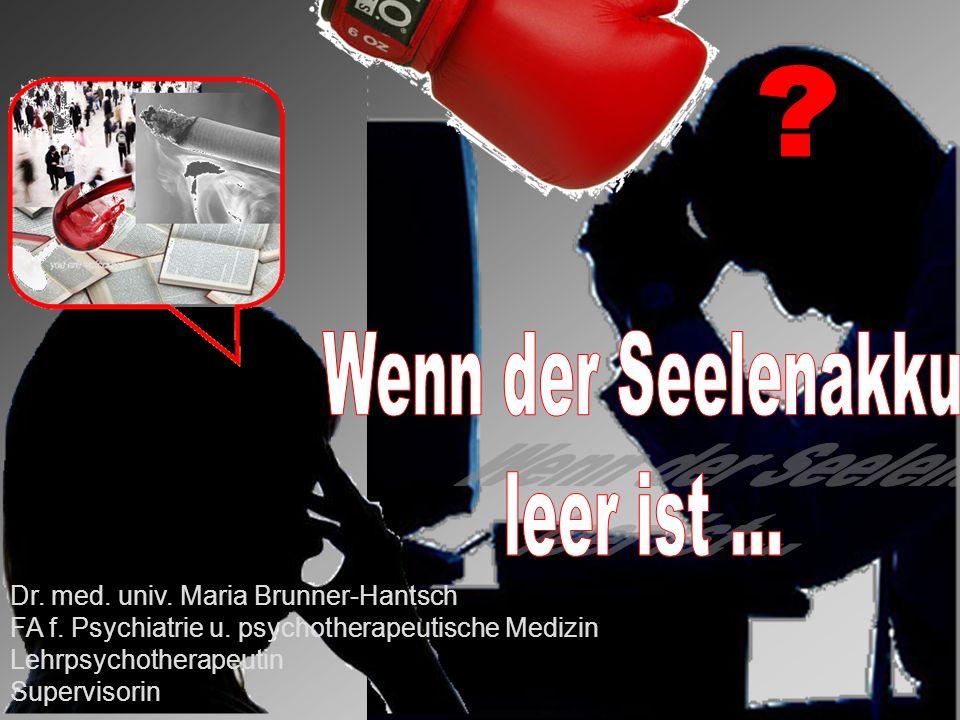 Dr.med. univ. Maria Brunner-Hantsch FA f. Psychiatrie u.