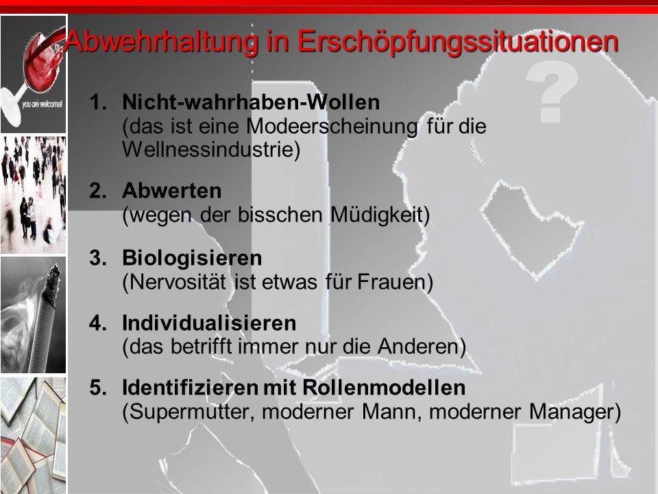 Allgemeine Burnout Prävention 3.