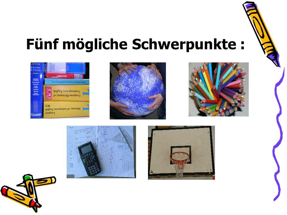 Sprachlicher Schwerpunkt Fremdsprache + Fremdsprache oder Fremdsprache + Deutsch