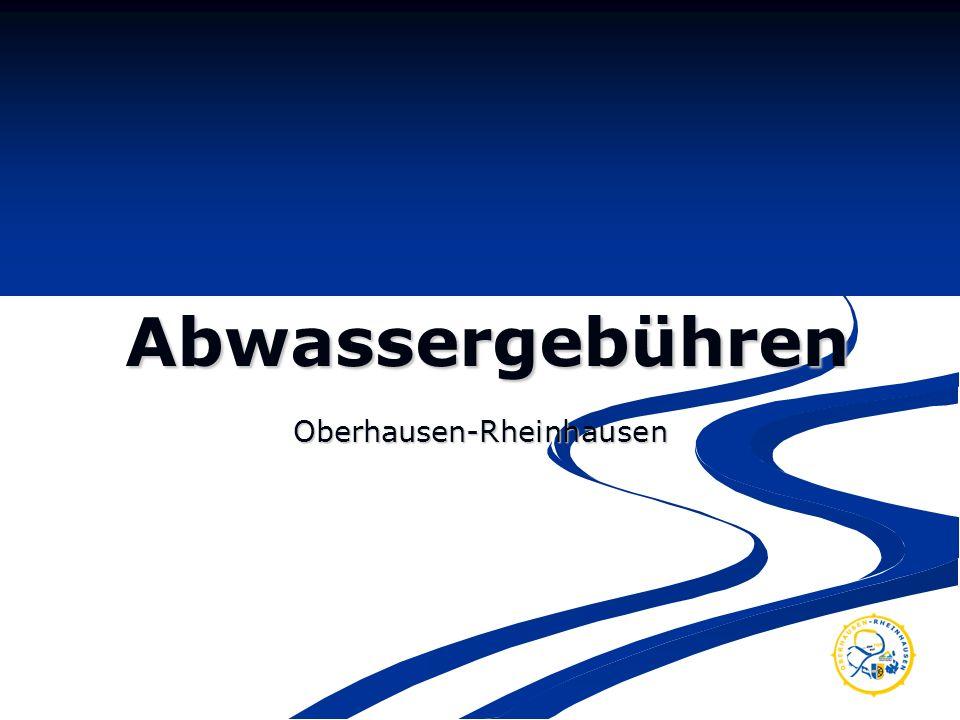 Abwassergebühren Oberhausen-Rheinhausen