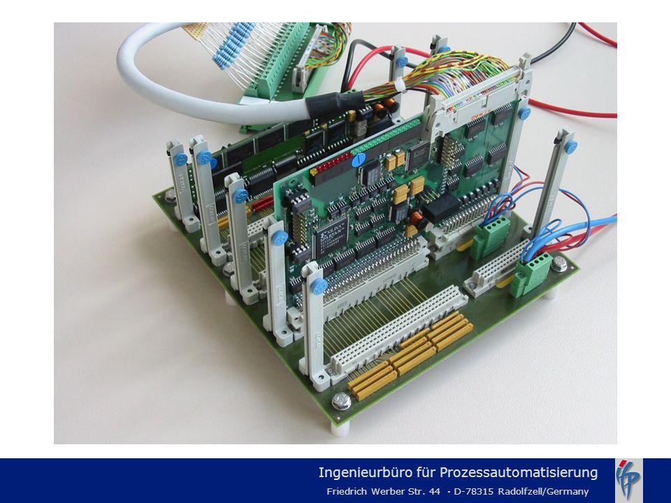 Ingenieurbüro für Prozessautomatisierung Friedrich Werber Str. 44 · D-78315 Radolfzell/Germany