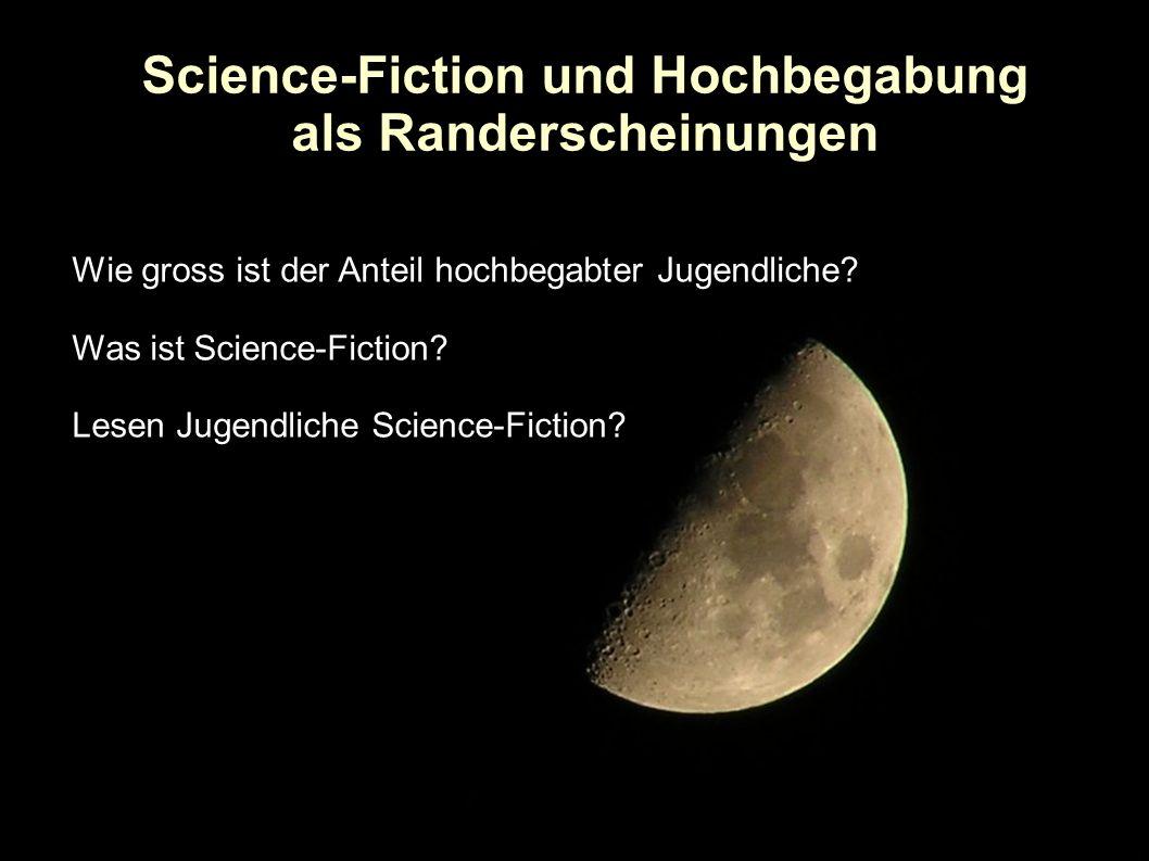 Lesen Hochbegabte Science-Fiction?