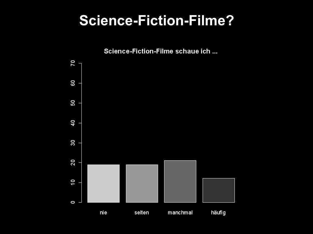 Science-Fiction-Hörspiele?