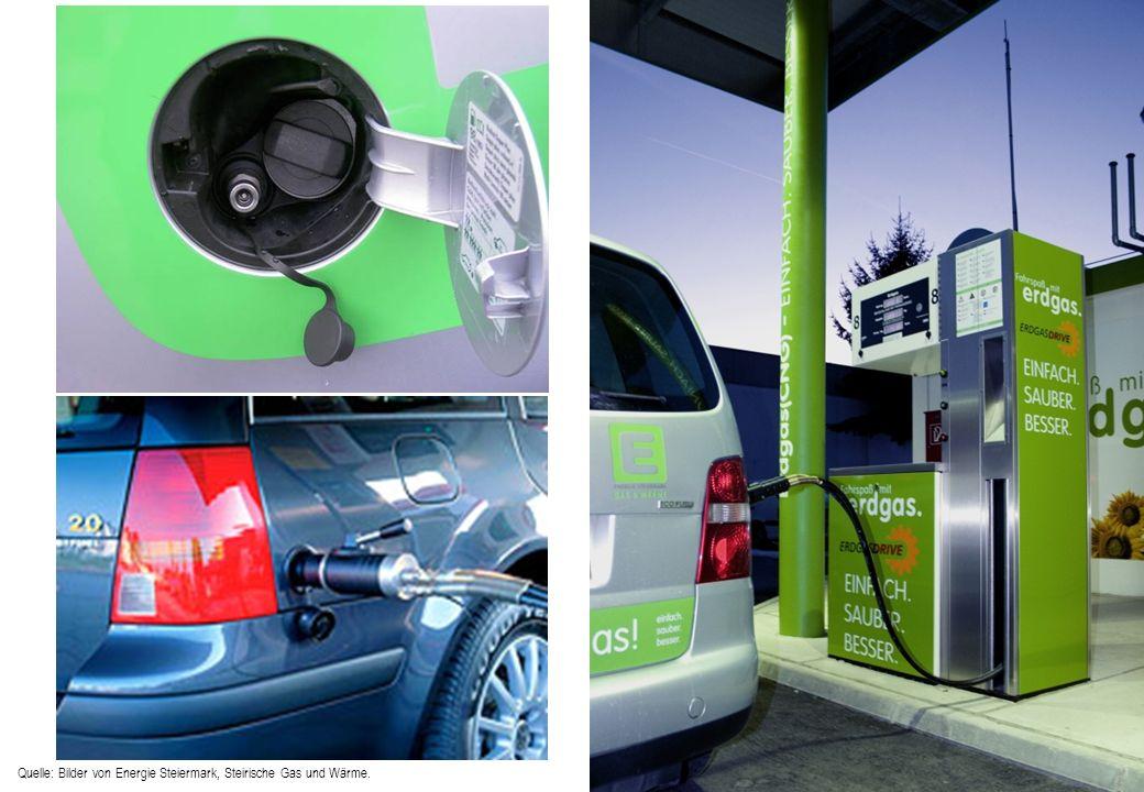 Fueling station Quelle: Bilder von Energie Steiermark, Steirische Gas und Wärme.