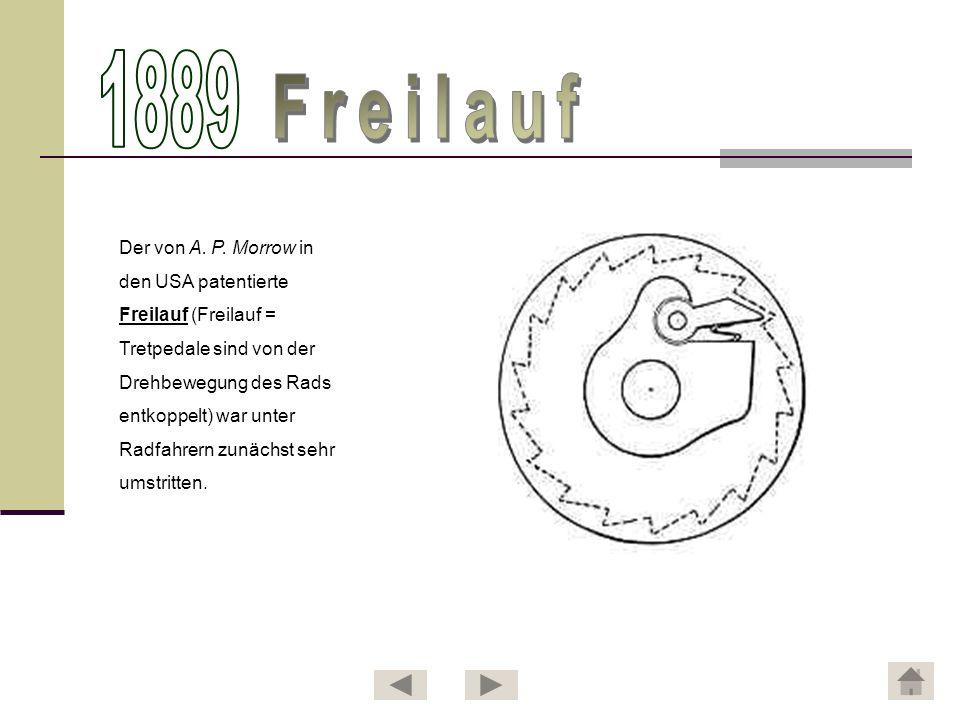 Den kommerziellen Durchbruch in Deutschland erlebte der Freilauf erst mit der Entwicklung der Torpedo-Freilaufnabe von Fichtel & Sachs.