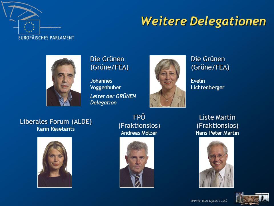 www.europarl.at Die wichtigsten Verfahren Das Verfahren der Mitentscheidung Das Zustimmungsverfahren Das Konsultationsverfahren