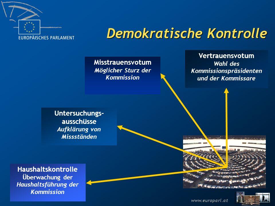 www.europarl.at Die Europa-Abgeordneten 785 Abgeordnete aus den 27 EU- Mitgliedstaaten Allgemeine und direkte Wahlen alle 5 Jahre Alle EU-Bürger können im Wohnsitzland wählen und gewählt werden Die nächsten Europawahlen finden im Juni 2009 statt