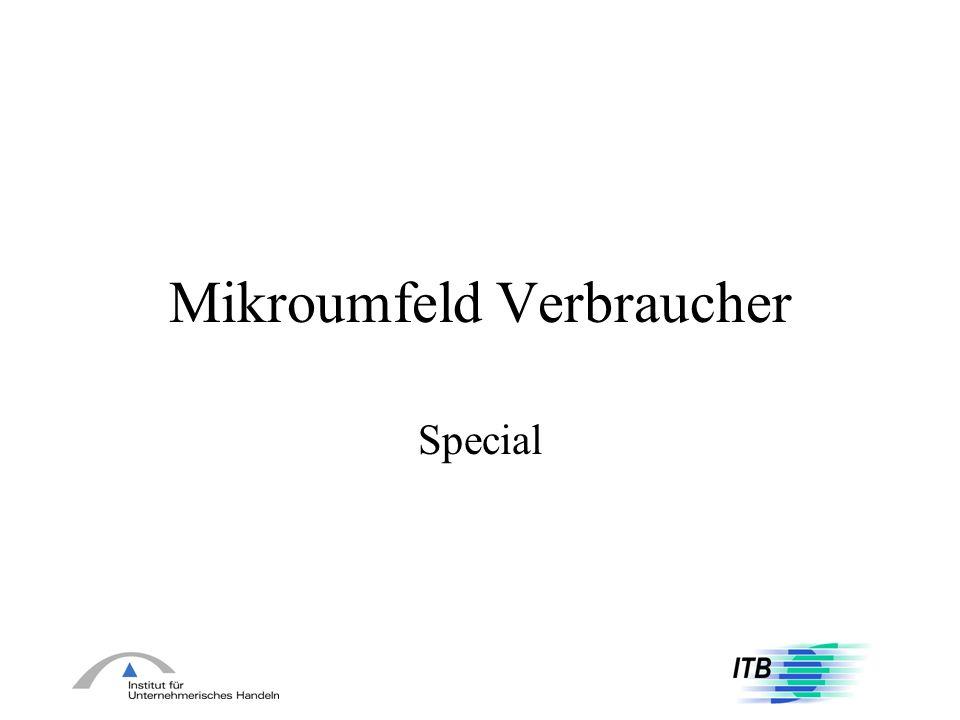 Mikroumfeld Verbraucher Special
