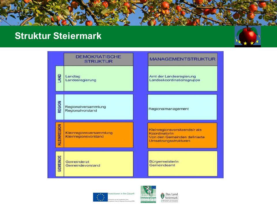 Struktur Steiermark