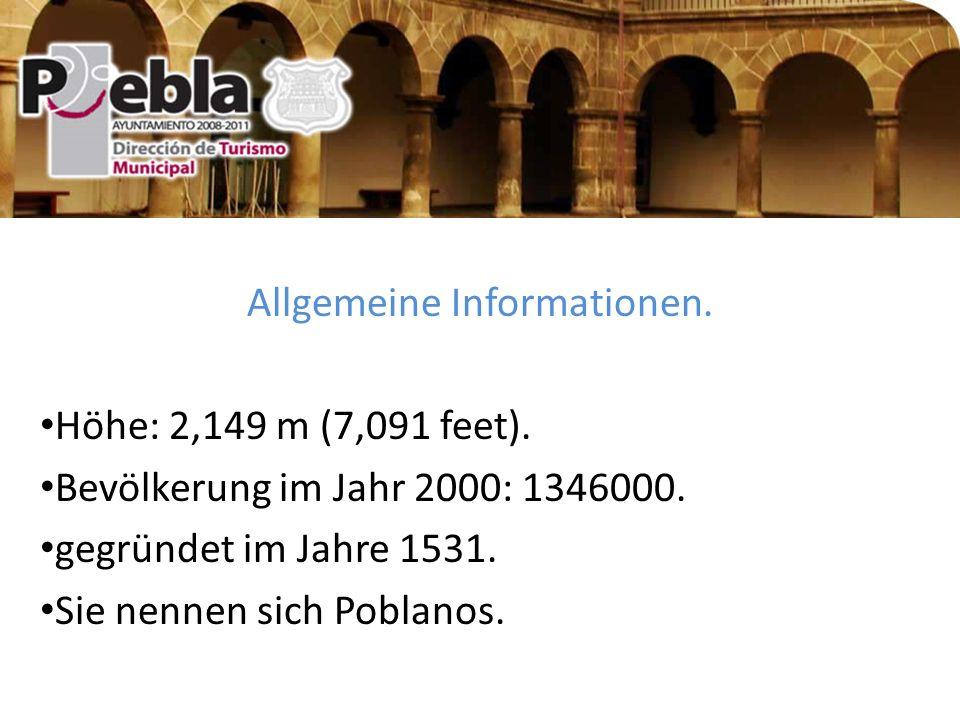 Allgemeine Informationen. Höhe: 2,149 m (7,091 feet).
