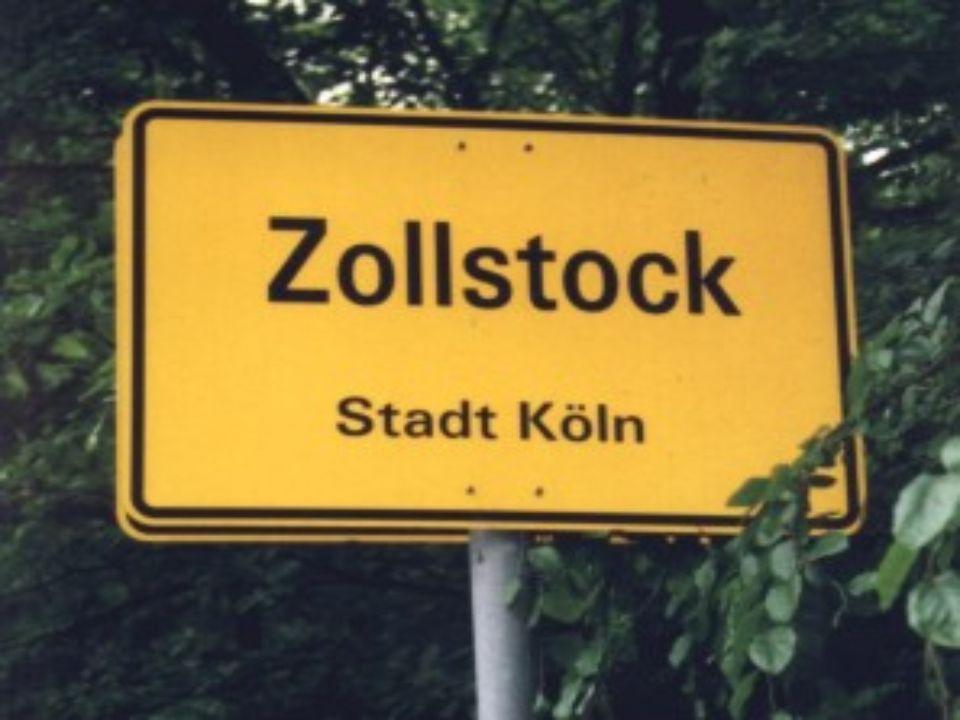 Köln – Zollstock Fakten über die Infrastruktur und die Lebensbedingungen in Zollstock