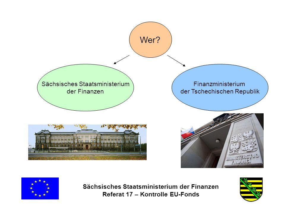 Sächsisches Staatsministerium der Finanzen Referat 17 – Kontrolle EU-Fonds Häufige Fehlerfeststellungen VerteilungsschlüsselNichtvorliegen bzw.